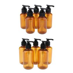 10x Empty Pump Bottle Lotion Containers for Essential Oil Bo