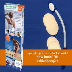 "18"" Semi-flex Body-Reach+ Bendable""Unbreakable"" Lotion Appli"