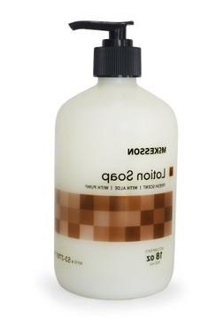 McKesson 53-27857-18 Lotion Soap, Fresh Scent with Aloe, 18o