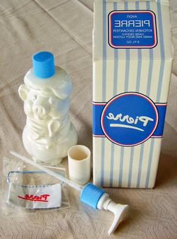 """1984 Avon """"PIERRE PIG"""" Care Deeply Kitchen Hand & Body Lotio"""
