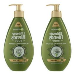 2 Garnier 13.5oz Ultimate Blend Extra Virgin Mythic Olive No
