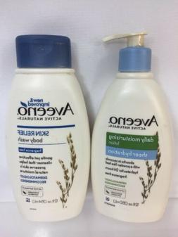 Aveeno Active Naturals Skin Relief Body Wash & Sheer Hydrat