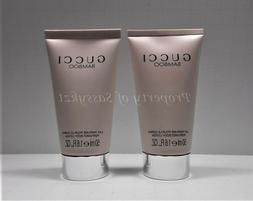 2 Gucci Bamboo Perfumed Body Lotion 2 x 1.6 oz. 50 ml