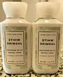 2 Bath and Body Works White Jasmine Shea Butter Coconut Oil