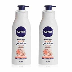 2 Lots X Nivea Extra Whitening Cell Repair Body Lotion SPF 1