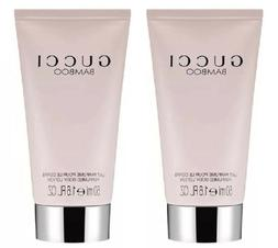 2 Pack - GUCCI BAMBOO Perfumed body lotion - 1.6 oz, 50ml -
