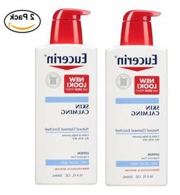 2PACK Eucerin Skin Calming Body Lotion 16.9 oz NEW!