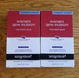 2x NEW Neutrogena Norwegian Formula Intensive Moisture Wrap