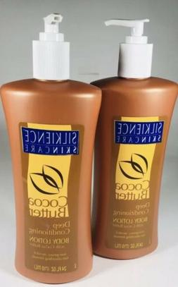 2x SILKIENCE Deep Conditioning Body Lotion w/ Cocoa Butter 2