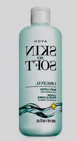 2x Avon Skin So Soft Original Moisturizing Body Lotion Unise