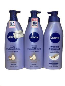 Nivea Body Lotion: Smooth Sensation, Essentially Enriched,