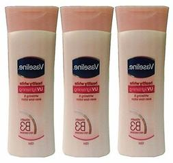 3 Pk, Vaseline Healthy White Skin Lightening Lotion, 100ml E