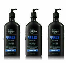 3 Bath & Body Works Aromatherapy Body Lotion Detoxify Black
