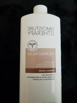 AVON MOISTURE THERAPY CALMING RELIEF BODY LOTION OATMEAL 16