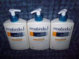 3 NEW 13.5 oz Lubriderm Daily Moisture Lotion with Sunscreen