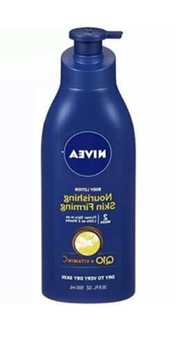 3 PACK Nivea Nourishing Skin Firming Body Lotion Q10 + Vitam