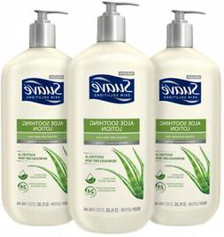 Suave Skin Solutions Soothing With Aloe Body Lotion, 32 Oz