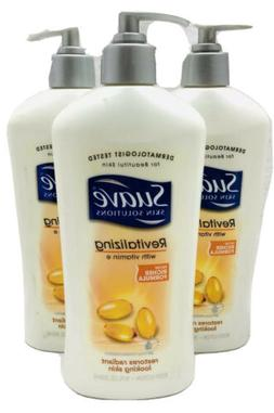 Suave Skin Solutions Body Lotion, Revitalizing with Vitamin