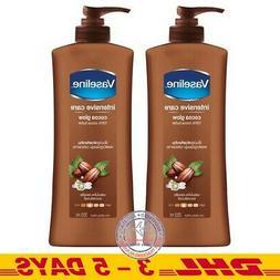 350 ml  1 Bottle Vaseline Intensive Care Cocoa Glow Non-Stic
