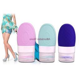 37ML Silicone Bottles Portable Outdoor Shampoo <font><b>Body