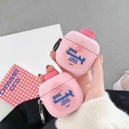 3D Body Lotion Silicone Case For Airpods Pro 1st & 2nd Gener