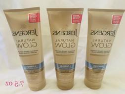 3x JERGENS Natural Glow Firming Daily Moisturizer FAIR to ME