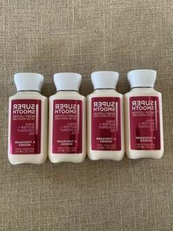 4 Bath & Body Works A Thousand Wishes Super Smooth Body Loti