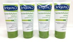 4- PACK CETAPHIL Daily Advance Body Lotion Ultra Hydrating,