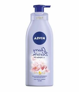 400ml : NIVEA Oil in Lotion Cherry Blossom & Jojoba Oil Body