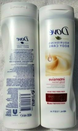 4x Dove Intensive Nourishing BODY LOTION Extra Dry Skin DEEP