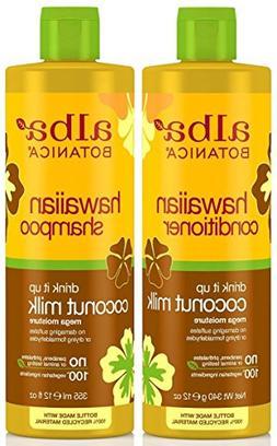 Alba Botanica Drink It Up Coconut Milk, Hawaiian Duo Set Sha