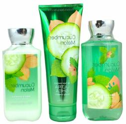 Bath & Body Works Signature Collection Cucumber Melon Gift S