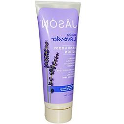 Jason Natural, Hand & Body Lotion, Calming Lavender, 8 oz  -
