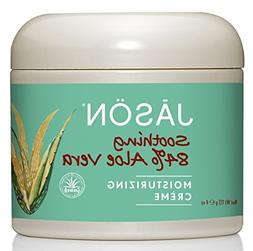 Jason Pure Natural Moisturizing Creme, Soothing 84% Aloe Ver