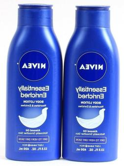 Nivea Body Lotion - Essentially Enriched - With Almond Oil -