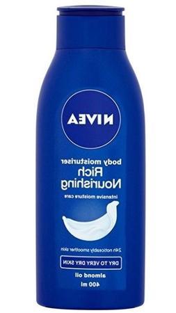 Nivea Rich Nourishing Body Moisturizing Lotion w/ Almond Oil