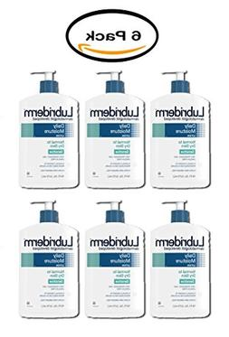 PACK OF 6 - Lubriderm Daily Moisture Body Lotion For Sensiti