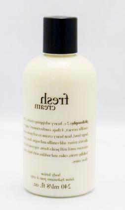 Philosophy Fresh Cream Body Lotion 8 Oz