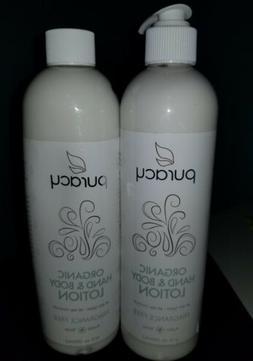 Puracy Organic Hand  Body Lotion Fragrance-Free 12 fl oz 355