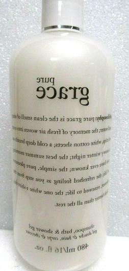 Pure Grace by Philosophy for Unisex - 16 oz Body Lotion.