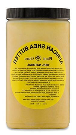 Raw African Shea Butter 32 oz  Bulk Unrefined Grade A 100% P
