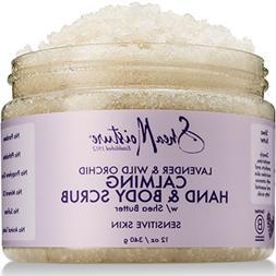 SheaMoisture Lavender & Wild Orchid Hand & Body Scrub | 12 O