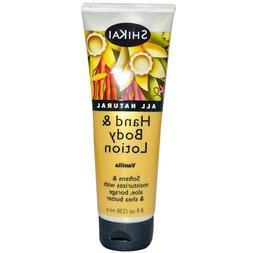 Shikai Products - Shikai Hand And Body Lotion Vanilla - 8 Fl