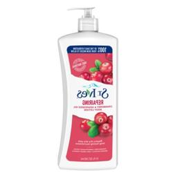 St. Ives Intensive Healing Body Lotion, cranberry seed & gra