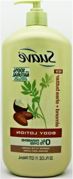 Suave Body Lotion, Almond + Shea Butter, 32 fl oz