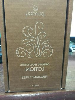 A lot of 2 Puracy Organic Hand & Body Lotion Fragrance Free