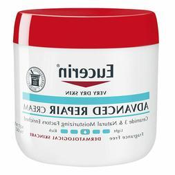 Eucerin Advanced Repair Cream Fragrance Free Full Body Lotio