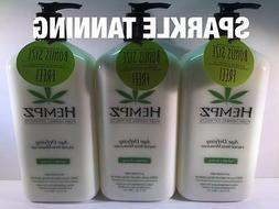 Hempz AGE DEFYING Herbal Body Moisturizer Hemp Tan Extending