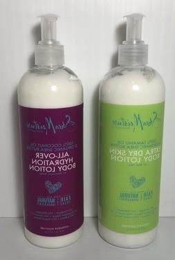 Shea Moisture All Over Hydration Body Lotion & Extra Dry Ski