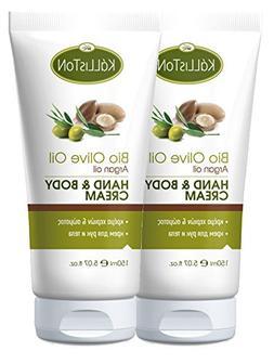 Kalliston | Anti Aging Organic Olive Oil & Argan Oil Lotion